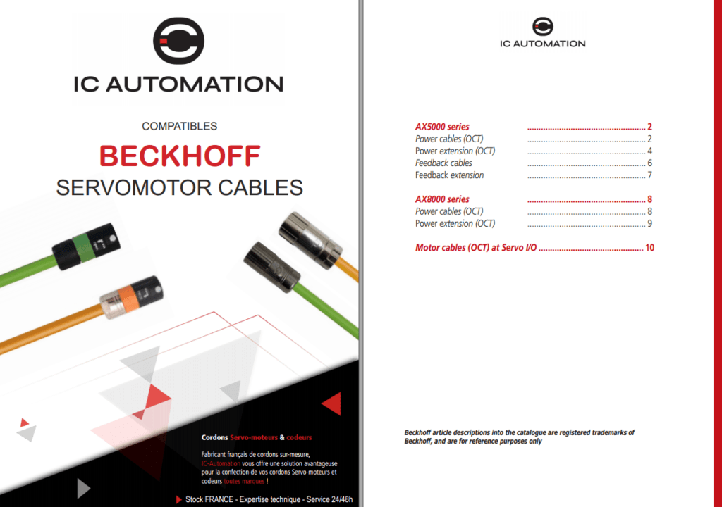 Cables BECKHOFF