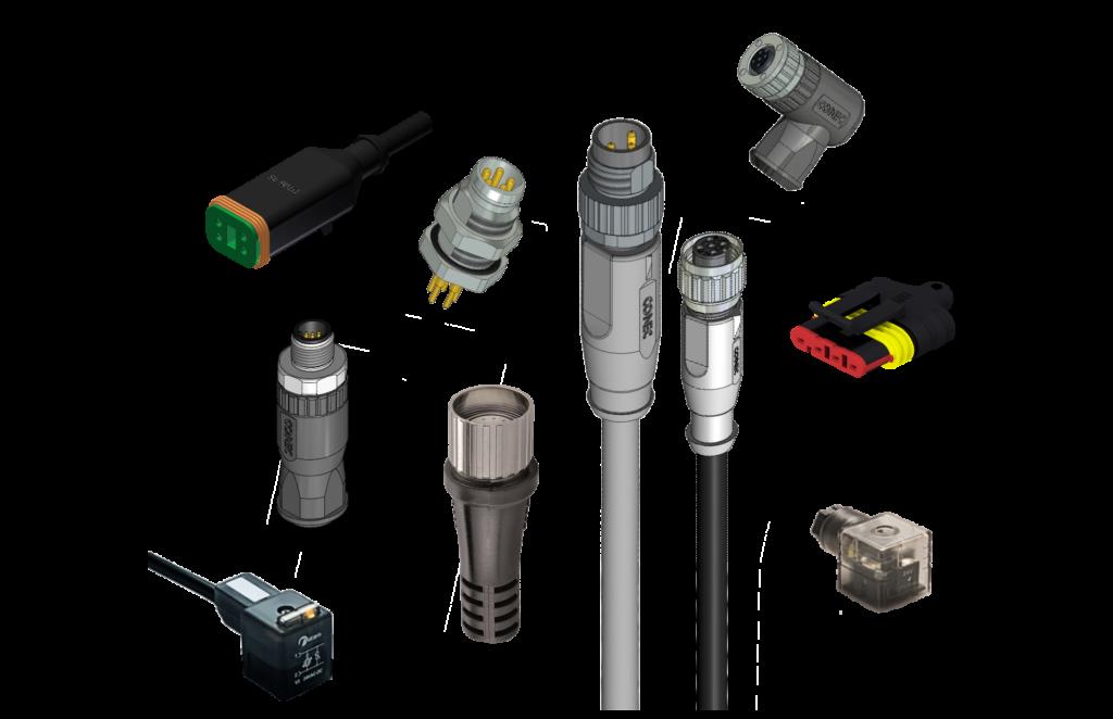 Connecteurs capteur