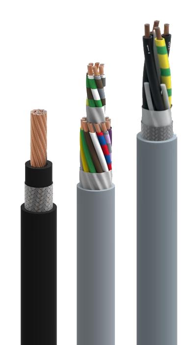 Câbles industriels